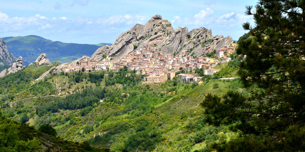 Pietrapertosa and Castelmezzano with Zirlio