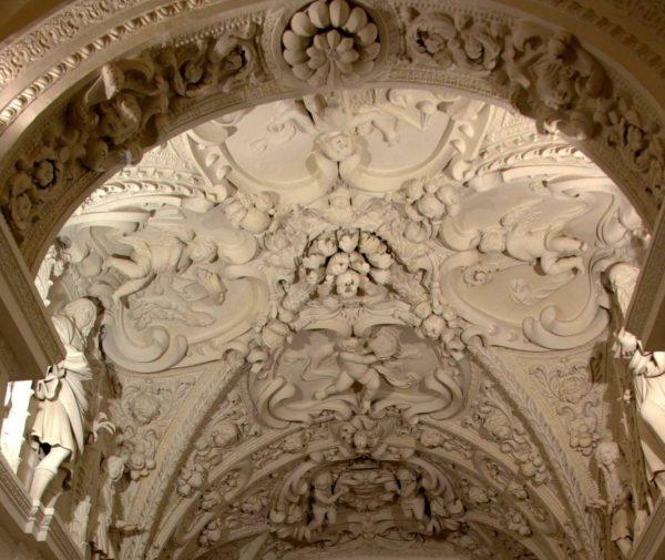 Soffitto navata destra della Cattedrale - Tricarico