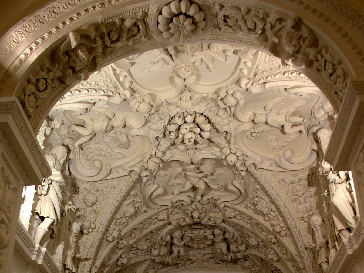 Ceiling right aisle of the Cathedral - Tricarico