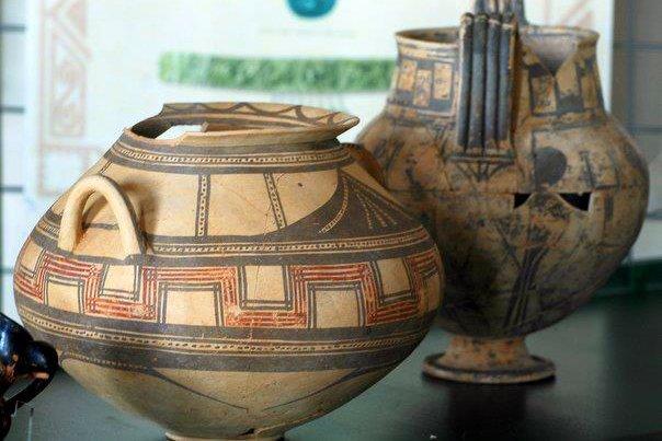 Reperti del Museo Archeologico di Tricarico