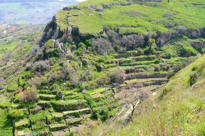 Panoramica degli Orti Saraceni - Tricarico