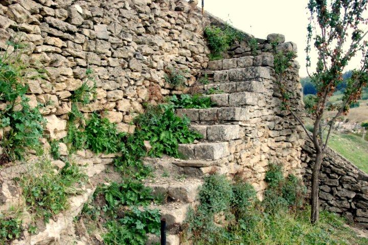Stairs - Saracens' gardens - Tricarico