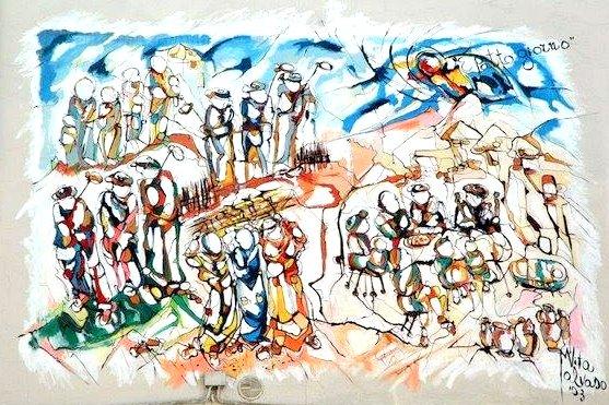 Murales dedicato al poeta Rocco Scotellaro - Tricarico