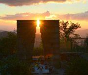 Tomba di Rocco Scotellaro all'alba - Tricarico