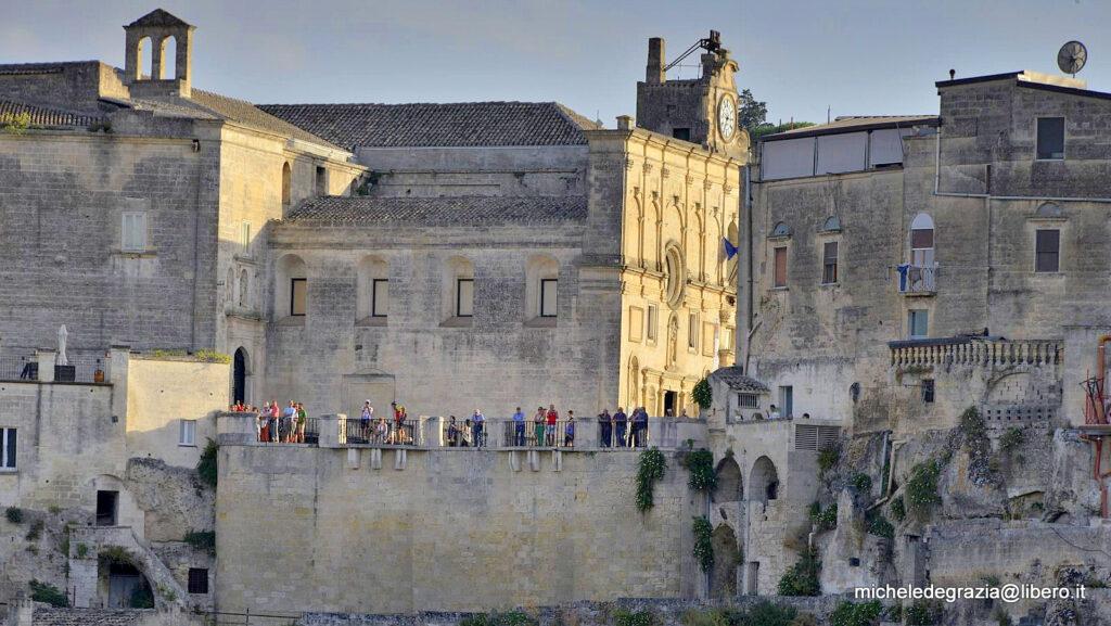Belvedere di Piazzetta Pascoli a Matera