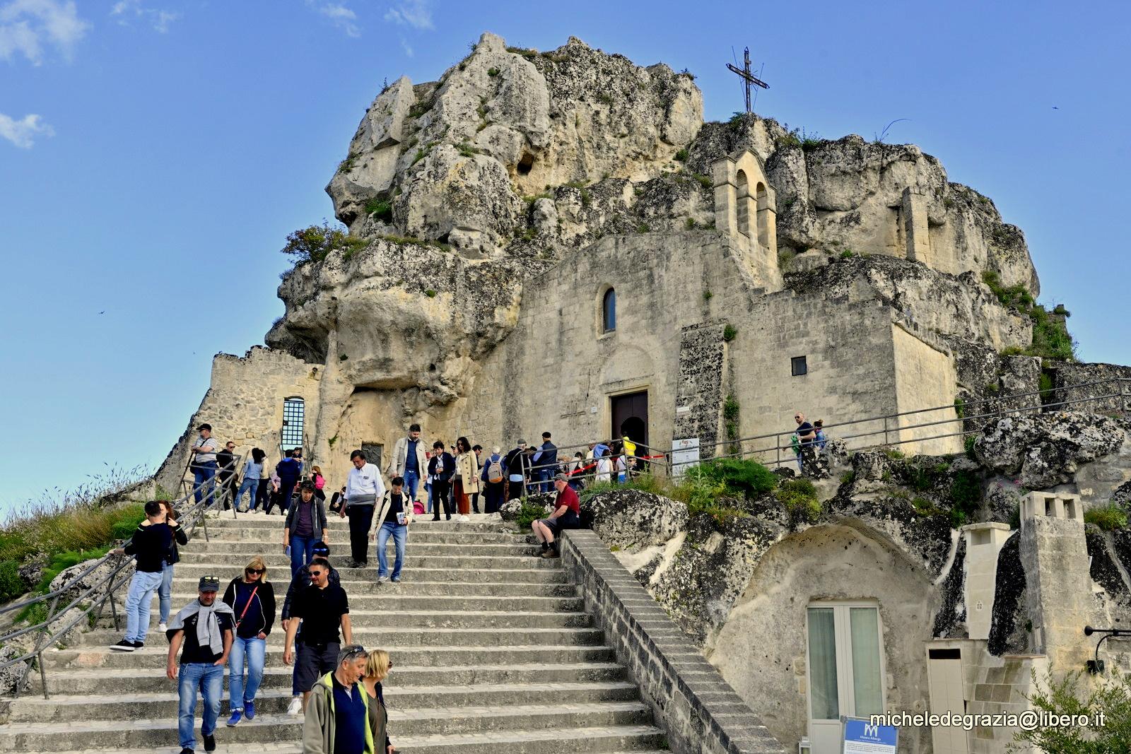 Chiesa Madonna di Idris - posti da vedere a Matera