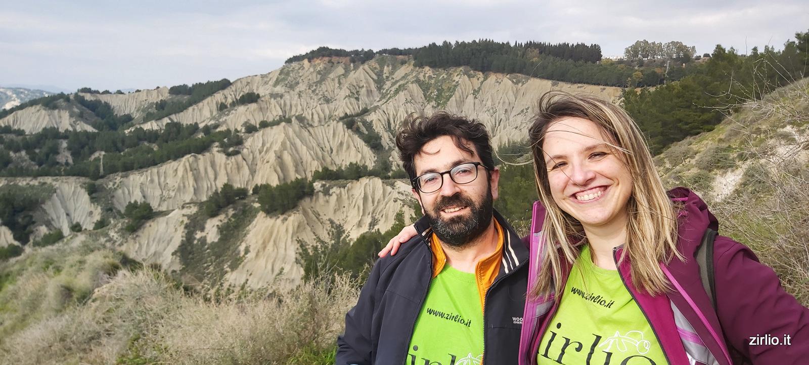 Escursione tra i calanchi di Montalbano Jonico