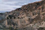 Il tramonto sui calanchi di montalbano Jonico