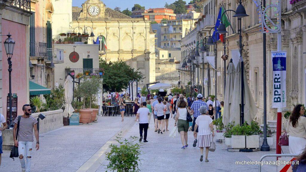 Visitare Matera a Piedi - scorcio di via Ridola