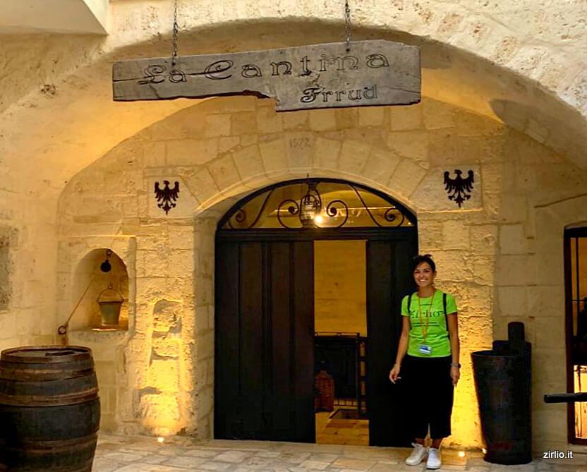 La cantina Museo del Vino dove ci recheremo per la seconda parte del tour